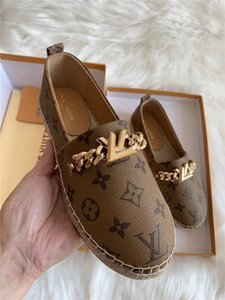 A01 son deri dokuma kenevir tek kaliteli son kadın rahat spor ayakkabıları tasarımcı moda üst seviye ayakkabılar düz ayakkabılar balıkçı ayakkabı