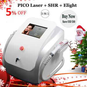 다기능 SHR IPL 머리 제거 기계 Picosecond 레이저 문신 제거 Opt SHR Elight Skin Rejuvenation 미용 장치