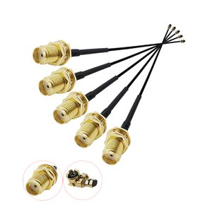 Extension Cord UFL to SMA Connector Antenna WiFi Pigtail Cable IPX to SMA to IPX 1.13