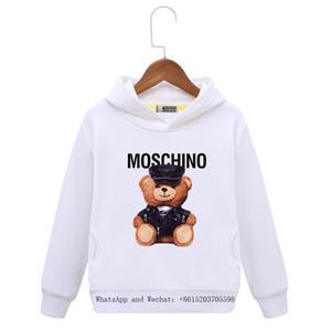 Bahar Çocuk giyim Ceket Çocuk Kol Kafa Kazak Saf Pamuk Karikatür Baskı Kız renkler erkek hoodie bebek giyim