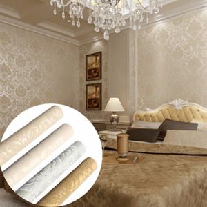 10M 3D impermeabile Home TV sfondo di mattoni sfondi Wall Sticker Luxury Living Room Wallpaper murale decorativo Camera Sticke