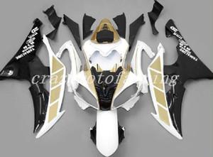 Nuovo ABS Iniezione Mold carenature del motociclo Kit Fit For YAMAHA YZF-R6-600 2008-2016 08 09 10 11 12 13 14 15 16 carrozzeria oro insieme personalizzato