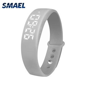 2020 бренда SMAEL LED Sport Многофункциональное мужчины наручные часы Шаг Счетчик Uhr цифровой моды часы часы для мужской SL-W5 relogios Мужчина для