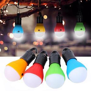 Tragbares Notfall im Freien Zelt Licht handliche Haken Magnetische Taschenlampe Camping LED-Birnen-Laterne Wasserdichte Lampe für wandernde Fischen 4 Farben