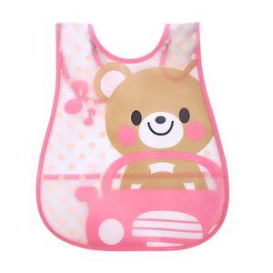 SAGACE Baby Bibs Cartoon Waterproof Bib Newborn Feeding Infant Baby Kid Burp Cloths Girls Boys Saliva Towel Print Apron EVA