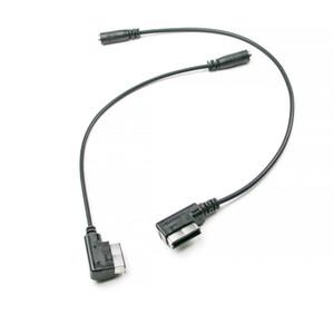 la línea de alimentación IAM IAM coche de línea de audio ami-TypeC + DC3.5 carga música línea de interfaz de línea de audio. IAM estéreo Cable de audio