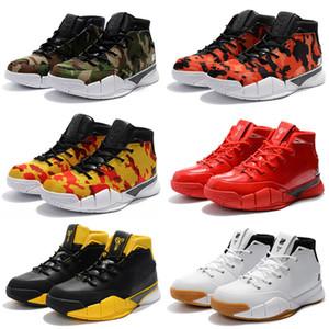 Sapatos baratos New Mens Weaving Mamba Dia 1 Protro ZK1 Sports Basquetebol para a qualidade superior dos homens 1s Trainers Popular Sneakers US 40-46