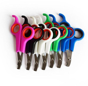 Puppy Cat Nails Scissors Multi Color Dog Grooming Supplies Stainless Steel Pet Nail Clippers High Quality