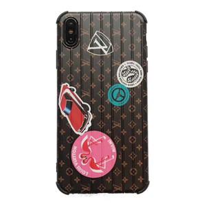 Auto-Muster-TPU Telefon-Kasten für iPhone 6s 7 8 6Plus 7plus 8plus Hülle für das iPhone XS MAX XR Marke Phone Case für iPhone 11 11Pro 11Pro max