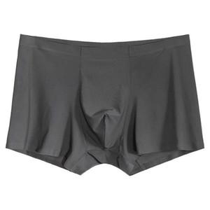 3 ПК / Бесшовная Boxer мужского нижнего белье Мужчина Трусы Мужского Spandex Sexy специального для мужчин Короткой Slips Cuecas азиатского Размер L до 3XL