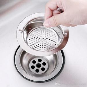 Kitchen Sink Mesh filtro di scarico Pool Sink Scolapasta fogna Lavelli Inox Filtro Net Filter bagno portatile Sink setaccio BH2418 TQQ