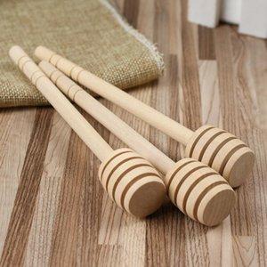 15 cm Rührer aus Holz Honey Spoon Stick für Honey Jar Long Handle Rührstab Honey Dipper Party Supply LX7277