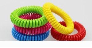 Репеллент браслеты рука лучезапястного сустава телефон кольцо цепи Противомоскитный браслет браслет Pest Control Bands DHL 7787