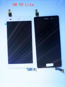 """XBJ-Toptan-HUAWEI P8 Lite LCD logo veya hiçbir logo ile Test Orijinal 5.0 """"HUAWEI P8 Lite LCD Dokunmatik Ekran"""