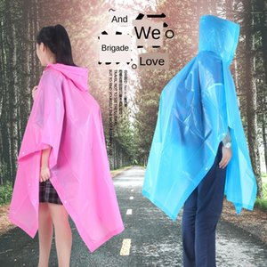 EVA cloak non-disposable cycling adult hooded raincoat poncho bicycle Cloak bicycle raincoat outdoor travel