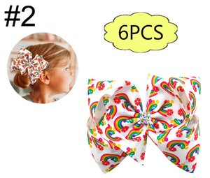 pelo 7-8''cartoon envío libre 6pcs arcos grandes arcos de pelo trolls boutiques de accesorios para el cabello niña bebé