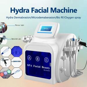 2020 I più popolari Hydra Microder mabrasion Hydra pelapatate facciale potente hydrodermabrasion vuoto profonda pulizia strumento di bellezza