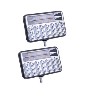 LED القيادة ضوء بار 5INCH 135W ساحة مصابيح الضباب على الطرق الوعرة مصباح العمل لسيارة، سيارات الدفع الرباعي، شاحنة، جرار، قارب، الكابينة، الإضاءة في الهواء الطلق