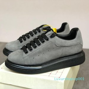 Tasarımcı Erkekler Kadınlar Platformu Sneaker Günlük Ayakkabılar Moda Parlak Floresan Ayakkabı Yılan Geri Deri Chaussures Hommes c22 dökün