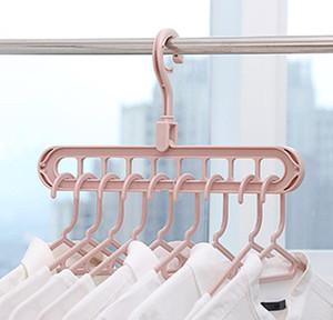 Çok fonksiyonlu klip ev gözenekli tasarım göğüs alınması pantolon ev askı kuru hava giysileri rack