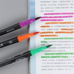 Child Color Pen Set Marker Watercolor Brush Oily Colored Drawing Fineliner Pen Painting Watercolor Art Pens School Supplies
