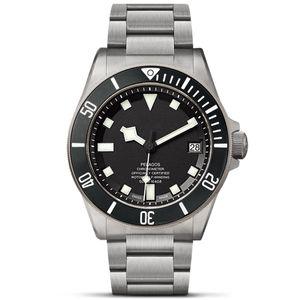Лучшие роскошные часы мужские высокого качества часы керамические ободок 42MM Полное нержавеющей стали Auto Дата Автоматическое движение водонепроницаемый супер светящихся