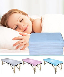 100pcs lot Disposable Medical grade Massage Special Non-Woven Bed Pad Beauty Salon SPA Dedicated Bed Sheets 180*80cm