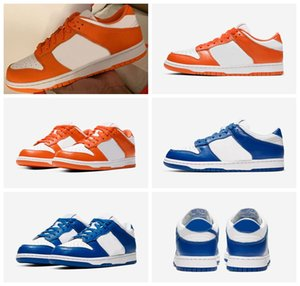 Nouvelle version Dunk Low Syracuse Kentucky 2020 Formateurs Chaussures Dunks 35ème OG Blaze Varsity royal sport nous Chaussures de course 5.5-10 CU1726-100