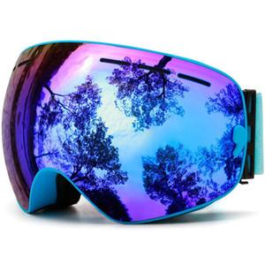 Uv Mask,ski Goggles,double Layers Protection Anti-fog Skiing Men Ski Women Snow Snowboard Goggles Sports Snowboard Goggles 3 DQVK