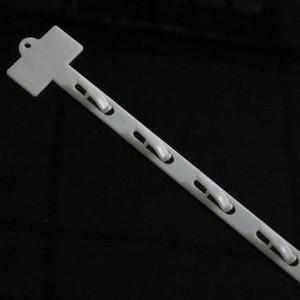 Kunststoff PP Einzelhandel Hängen Merchandise Clips Strips W20mm Produkte anzeigen für Supermarkt Store Promotion L785mm