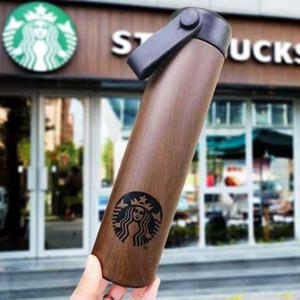 Bottiglia Starbucks doppia dell'acciaio inossidabile bottiglia di acqua tazze portatili della tazza di caffè di acqua isolati Auto Birra tazze di caffè Travel Mug