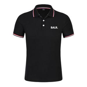 T-shirt da uomo di polso di lusso Balr Street Tide Brand Brand-manica corta girocollo allentato a maniche corte in cotone personalità maschile T-shir