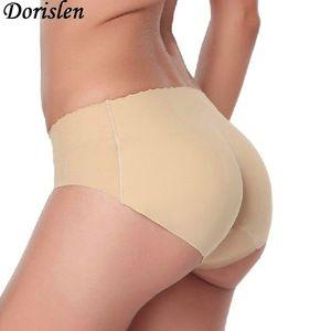 Rellenado atractivo bragas falso Culo nalga encima de panty cadera Butt cuerpo que forma escritos inconsútiles Enhancer ropa interior 50pcs / lot