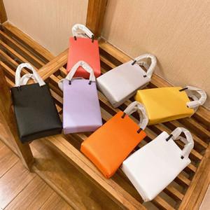 Модный дизайнер женская Мини-сумка для мобильного телефона письмо роскошная сумка высокого качества Масло Воск кожаная сумка логотип подарочная коробка