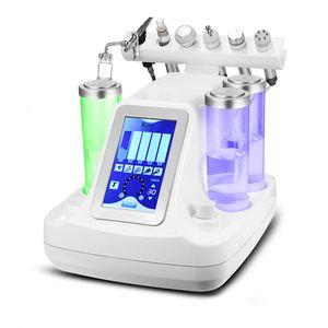 Coreia do 6 em 1 multifunções 2 Hydrogen Oxygen pequena bolha Facial Bubble Machine elétrico pequeno Bio Massagem Facial Pore Cleanser