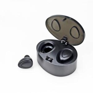 TWS K2 Auriculares Bluetooth Inalámbricos Auriculares de Teléfono Celular Auriculares Estéreo Verdaderos Gemelos Dobles Auriculares Micrófono Bajo Auriculares Dobles para Apple iPhone