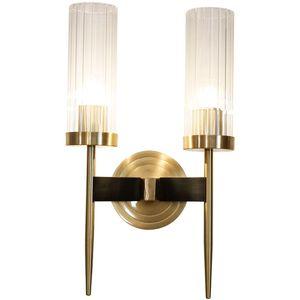 """16 """"Yüksek Sıcak Pirinç Duvar Aplik Bronz 2-Lights Bakır Bronz Işık Banyo Işık Euro LED Okuma Duvar Lambası"""
