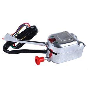 Chrome 12V Universal Rat Hot Rod Turn Signal Switch for GM