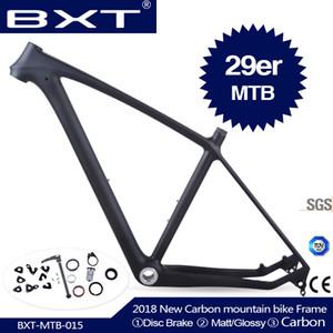 2019 BXT 브랜드 T800 카본 MTB 프레임 29ER MTB 카본 프레임 29 카본 산악 자전거 프레임 142 * 12 또는 135 * 9mm 자전거 프레임
