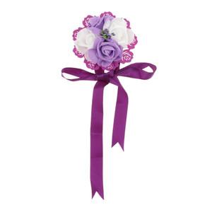 Wedding Curtain Tieback Drape Holder Band Flower Home Decor