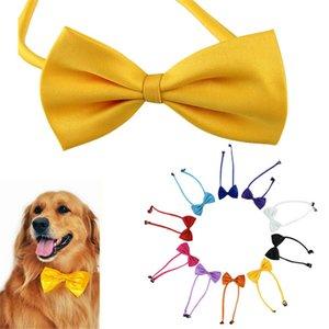 Adjustable Pet Dog Bow Tie Cat Necktie Collar Pet Grooming Supplies Pet Headdress Flower DLH409
