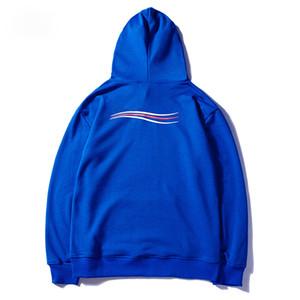 Hoodies De Luxe Hip Hop Hommes Femmes Designer Hoodies Noir Blanc Bleu Pull Hoodies Hiver Sweat Taille M-XXL