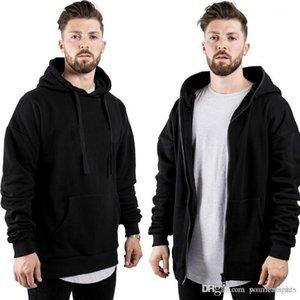 Pozitif Negatif Giyim Düz Renk Açık Spor Fitness Tişörtü Mens Tasarımcı Rahat Hoodies Sonbahar Kış