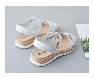 0722hzd216 новые Популярные на открытом воздухе прогулочные плоские тапочки мужские сандалии женские летние прохладные пляжные сандалии с коробкой