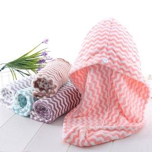 Soft Microfibre быстрые сухие колпачки для волос сгущает волосы супер абсорбирующие быстросохнущие полотенце тюрбан ванна крышка халат шляп