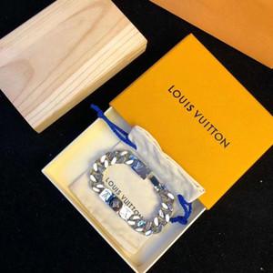 New Silver Rose Gold Нержавеющая сталь Винт Мужчины Отвертка Алмазные Престижное Дизайнер ювелирных изделий женщин Мужские браслеты браслет с оригинальной коробке