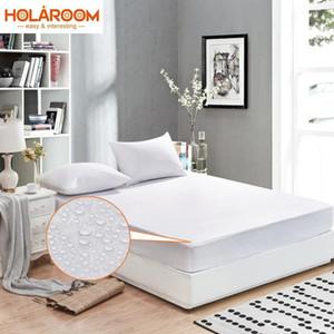 Wasserdichte Matratzenauflage Bett Matress Abdeckung Matratzenschoner Bed Bug Proof Wasser Mite durchlässige Pad-Abdeckung für