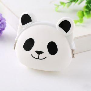 Caso animal Mini saco de armazenamento de silicone pequena bolsa bonito Coin Purse Coruja doce Kawaii Carteira de Carteira menina Key Rubber LXL896-1