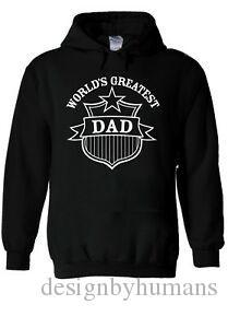 The World 039 s Dad Father Hoodie Sweatshirt Jumper Men Women Unisex 1693