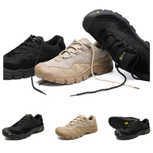2019 Intere scarpe vendita escursionismo uomini scarpe sportive di trasporto del nero marrone dropshipping sport antiscivolo scarpe da ginnastica formatori graduano 38-46